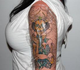 Aftercare salem ink custom tattoo studio in salem ma for Tattoo shops in salem ma
